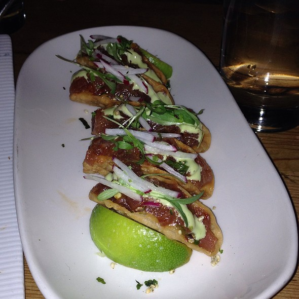 Poke Tuna Taco - Beauty & Essex- New York, New York, NY