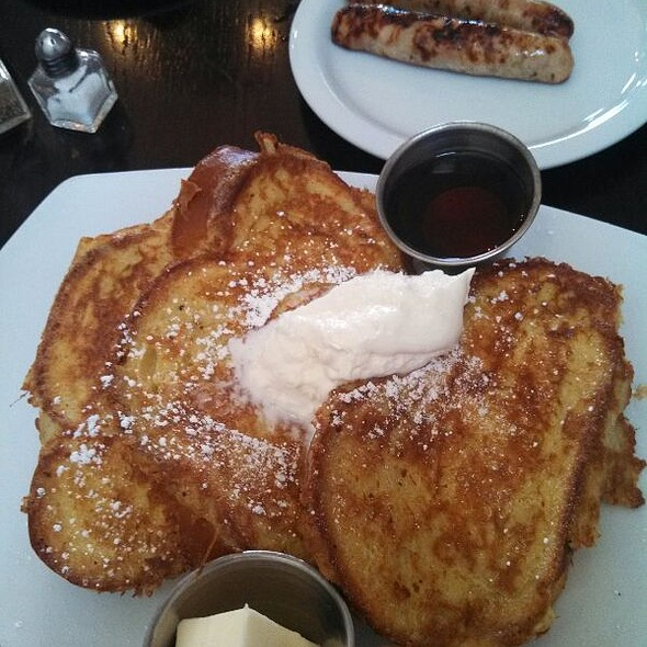 So Good...French Toast - Areal Restaurant, Santa Monica, CA