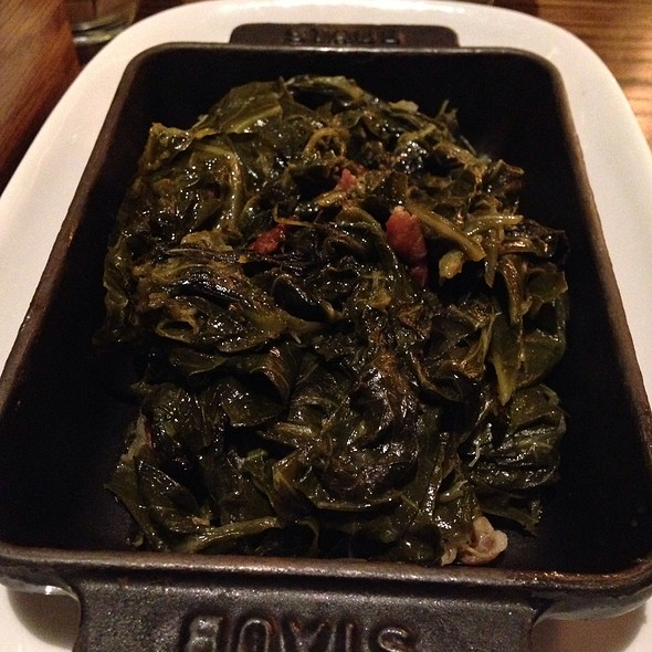 Bourbon Maple Collard Greens - Cook Hall - Dallas, Dallas, TX