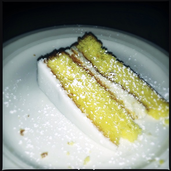 Lemon Cake - Cafe Europa Crestwood, Kansas City, MO