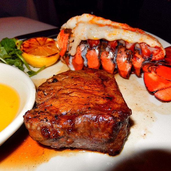 Filet Mignon And Lobster Tail - Morton's The Steakhouse - Las Vegas, Las Vegas, NV