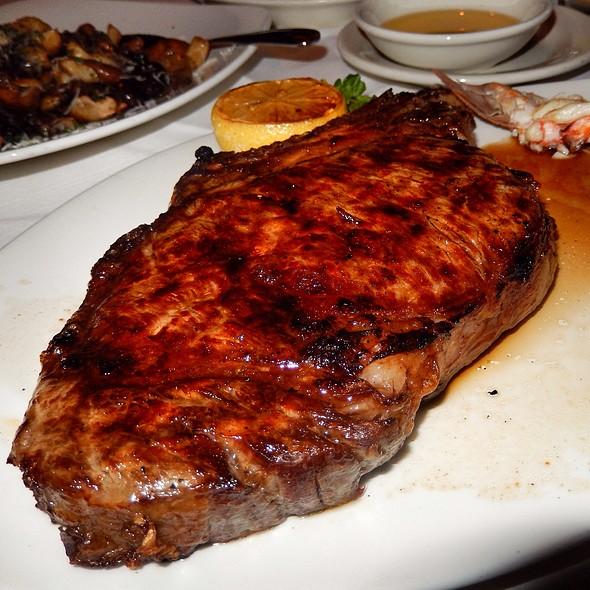 Bone In Ribeye And Lobster Tail - Morton's The Steakhouse - Las Vegas, Las Vegas, NV