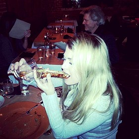 Roasted Bone Marrow Luge With Pear & Fig-infused Rye Whiskey - Tallgrass Prairie Table, Tulsa, OK