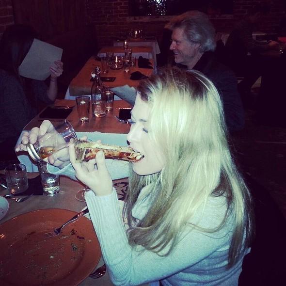 Roasted Bone Marrow Luge With Pear & Fig-infused Rye Whiskey - Tallgrass Prairie Table, Tulsa, OK