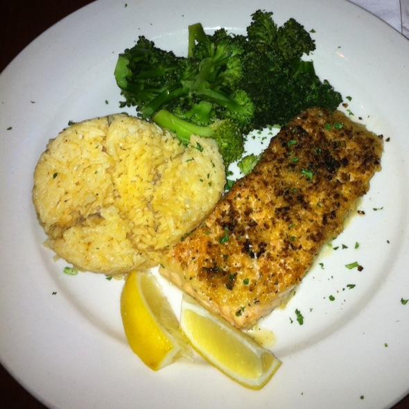 Baked Salmon - The Paris Cafe, New York, NY