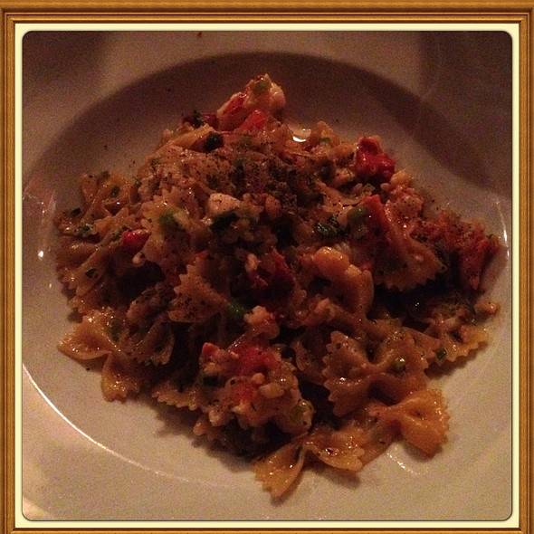 Bowtie Pasta With Maine Lobster - Antica Posta, Atlanta, GA