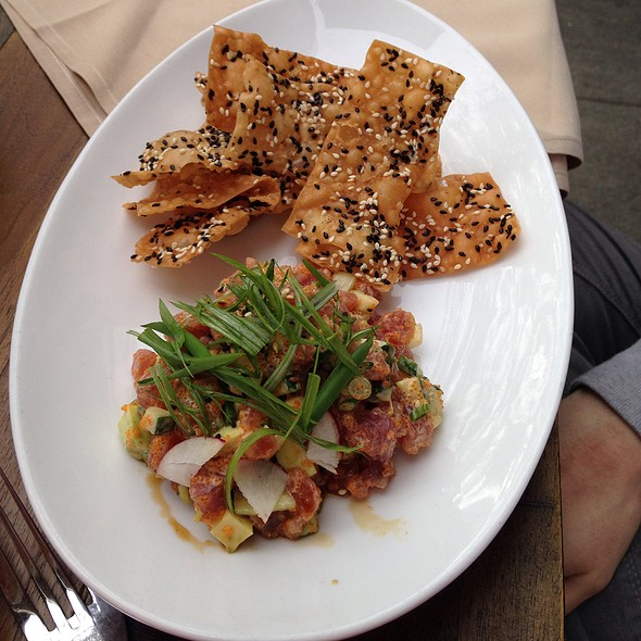 Ahi Tuna Tartare - M Street Kitchen, Santa Monica, CA