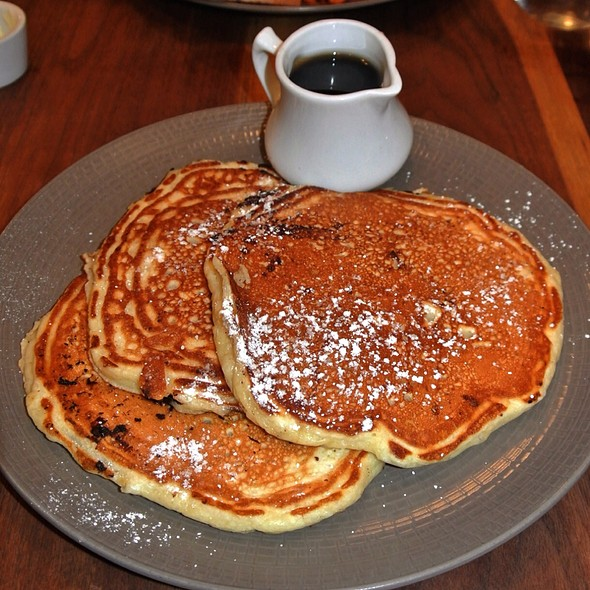 Chocolate Chip Buttermilk Pancakes - Fare Restaurant, Philadelphia, PA