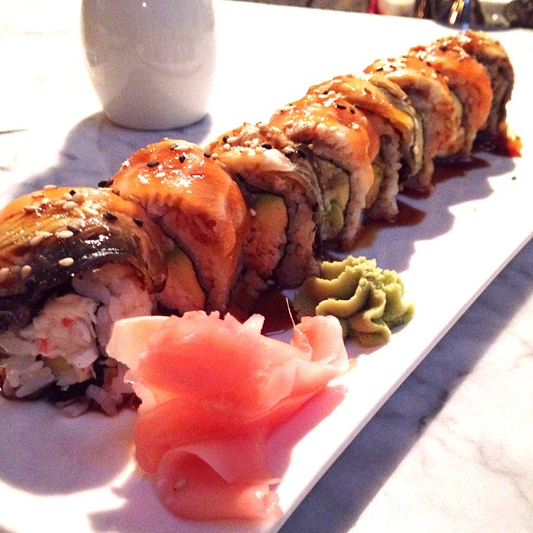 Rainbow Dragon Roll - Dallas Fish Market, Dallas, TX