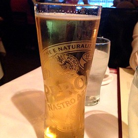 Peroni Draft In Signature Glass - Maggiano's - Tampa, Tampa, FL
