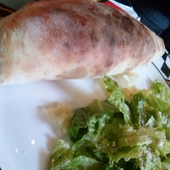 Rapini And Ricotta Cheese Calzone - Sofia's of Little Italy, New York, NY