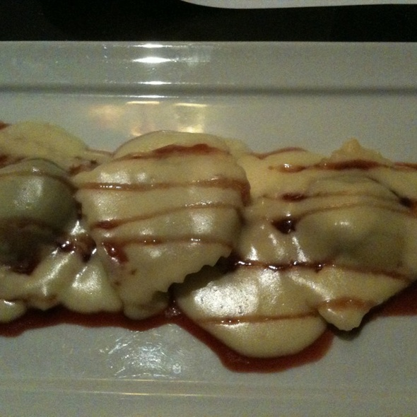 Venison Ravioli - Brown Dog Cafe, Blue Ash, OH