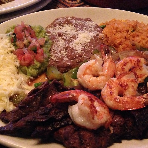 Shrimp And Steak Fajitas - Patron's Hacienda, Chicago, IL