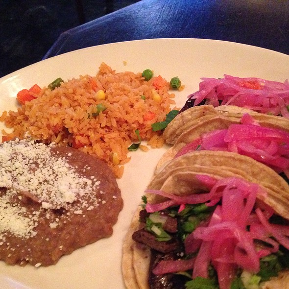 Carne Asada Tacos - Patron's Hacienda, Chicago, IL