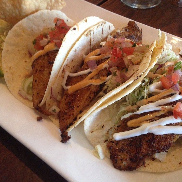 Blackened Mahi Tacos - Tommy Bahama Laguna Beach Bar & Grill, Laguna Beach, CA