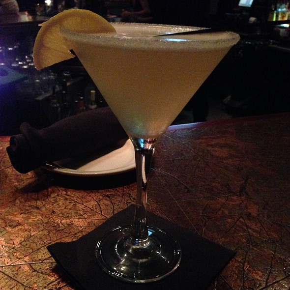 Lemon Drop Martini - Blue Restaurant-Charlotte-Permanently Closed, Charlotte, NC