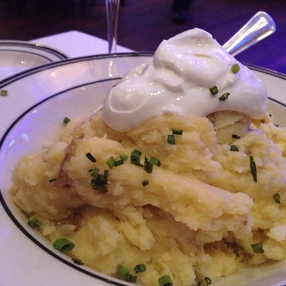 Mashed Potatoes - Oceanaire Seafood Room - Dallas, Dallas, TX