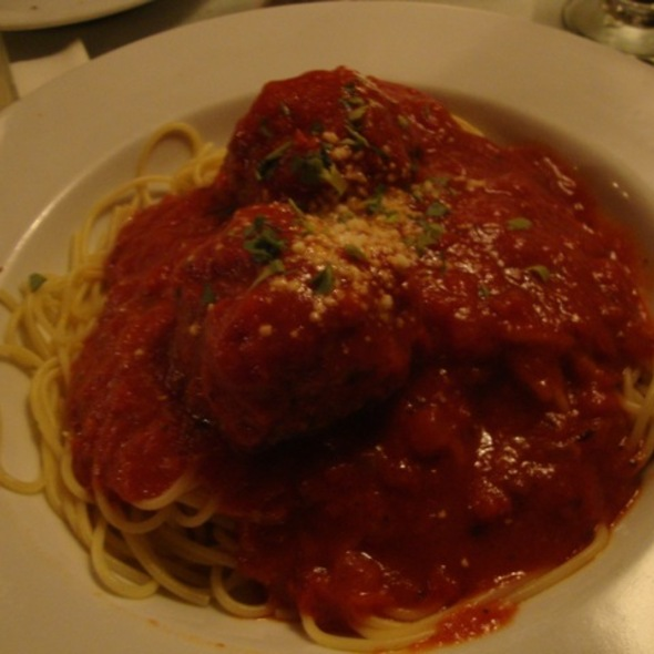 Spaghetti and Meatballs - Colombo's Italian Steakhouse & Jazz Club, Eagle Rock, CA