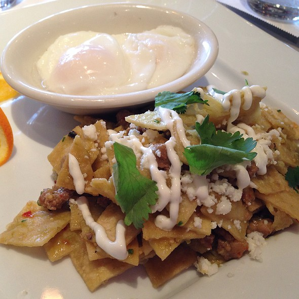 Chilaquiles - Market, St. Helena, CA