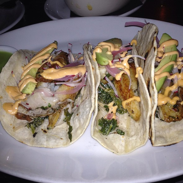 Mahi Mahi Fish Tacos - Boulton and Watt, New York, NY