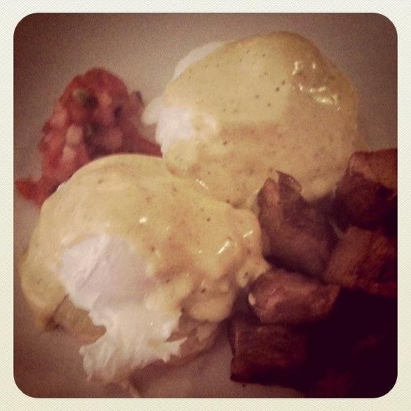 Santa Fe Style Eggs Benedict Atop Southwestern Biscuits - Masa - Boston, Boston, MA
