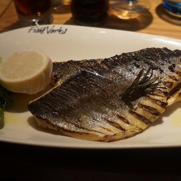 Sea bass - Fishworks - Swallow Street, London