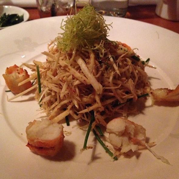 Warm Mushroom Truffle Salad - Matsuhisa Aspen, Aspen, CO