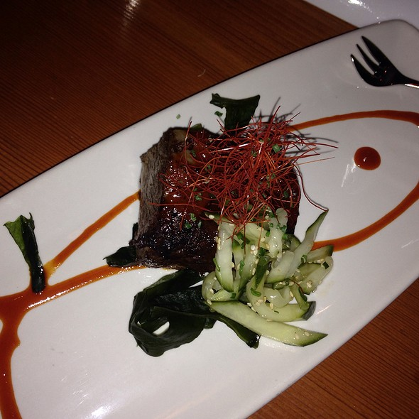 Braised Beef Short Rib With Kochijang Sauce - Matsuhisa Aspen, Aspen, CO