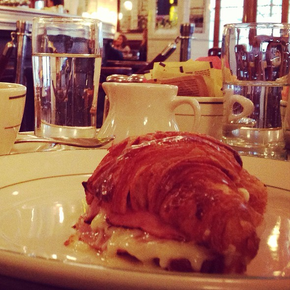 Croissant With Parisian Ham And Chese - Pastis, New York, NY