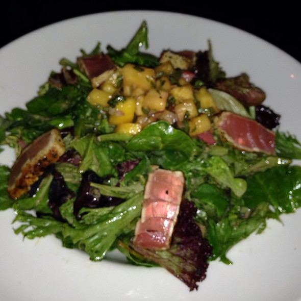 Ahi Tuna Salad - The Lakehouse at Geist, Castleton, IN