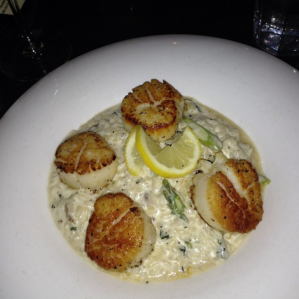 Scallops And Risoto  - The Lakehouse at Geist, Castleton, IN
