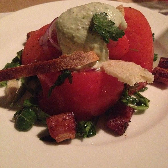 Scott Farm Heirloom Tomato Salad - Ellerbe Fine Foods, Fort Worth, TX