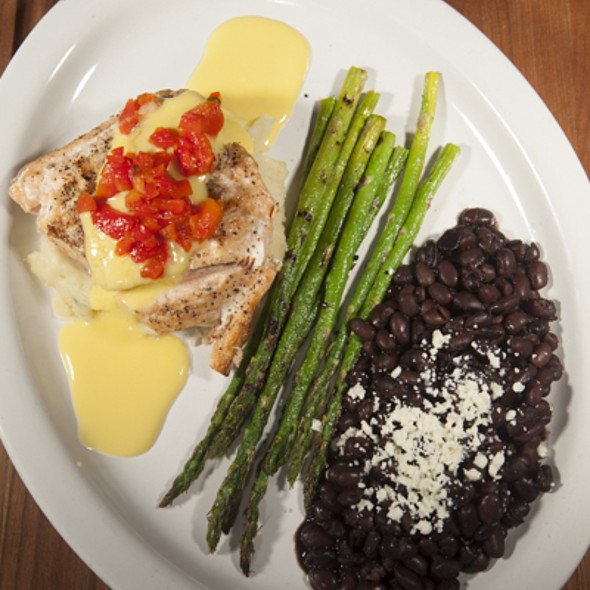 Mango-Habanero Salmon - Agave Cocina & Cantina - Redmond, Redmond, WA