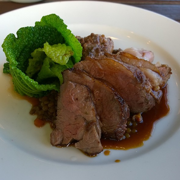 Roast Rump of Lamb - The Gun, London