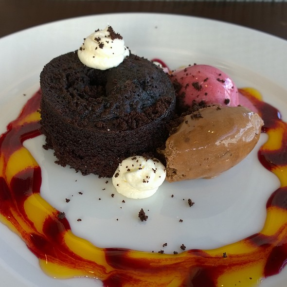 chocolate fondant - The Gun, London