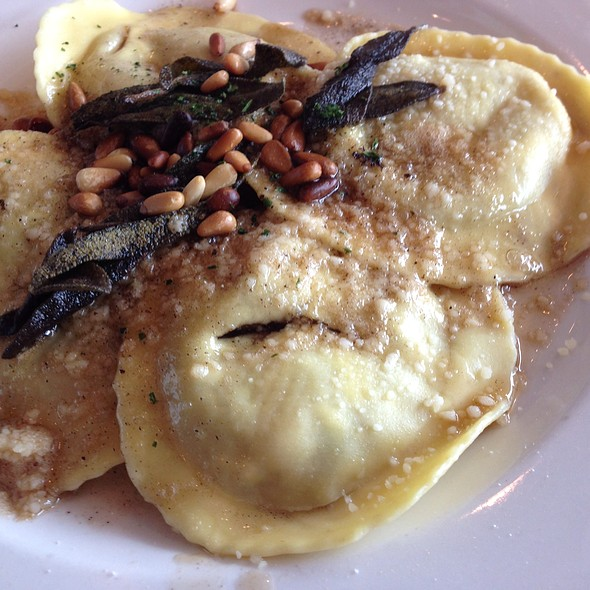 Roasted Pear Cheese Agnolotti - Riva Crabhouse on Navy Pier, Chicago, IL