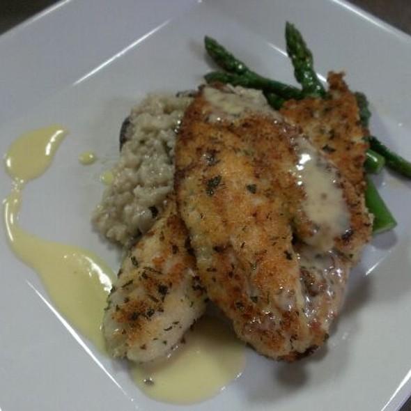 Parmesan Flounder - Pearl's Saltwater Grille, Savannah, GA