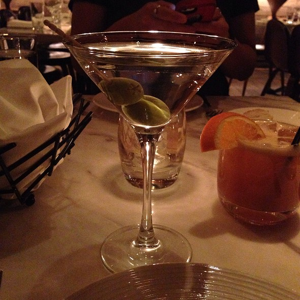 Absolut Vodka Martini - D.O.C.G. Enoteca by Scott Conant, Las Vegas, NV