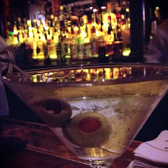 Vodka Martini - Old Ebbitt Grill, Washington, DC