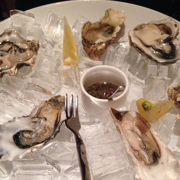 Oysters - Chouquet's, San Francisco, CA