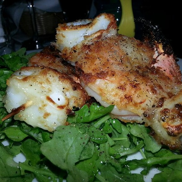 Grilled Shrimp And Calamari - Sweet Waters Steak House, Westfield, NJ