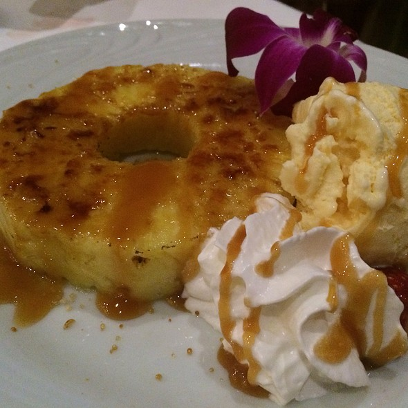 caramelized pineapple - Fogo de Chao Brazilian Steakhouse - Las Vegas, Las Vegas, NV