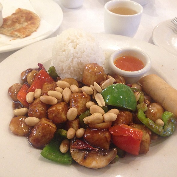 Kung Pao Tofu - TL's Four Seasons, Roseville, IL