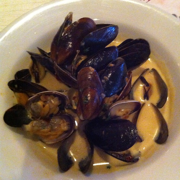 Mussels and Clams - Max's Opera Cafe, San Francisco, CA