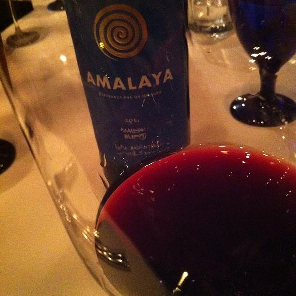 Amalaya Malbec - Francesco's, Vancouver, BC