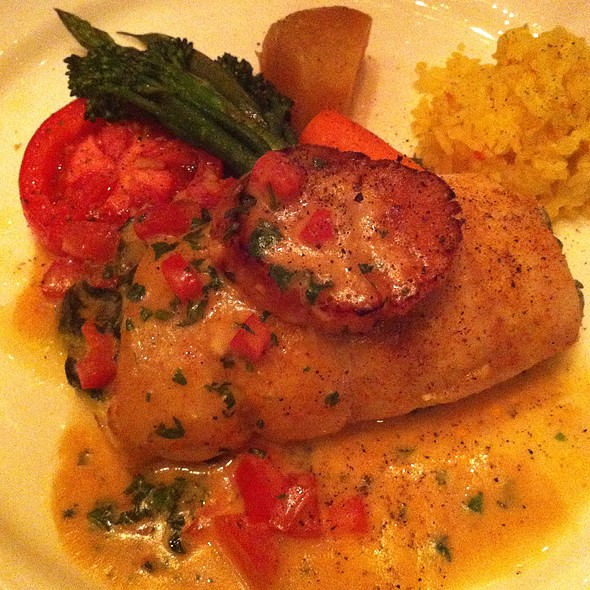 Seafood Stuffed Sole - Francesco's, Vancouver, BC