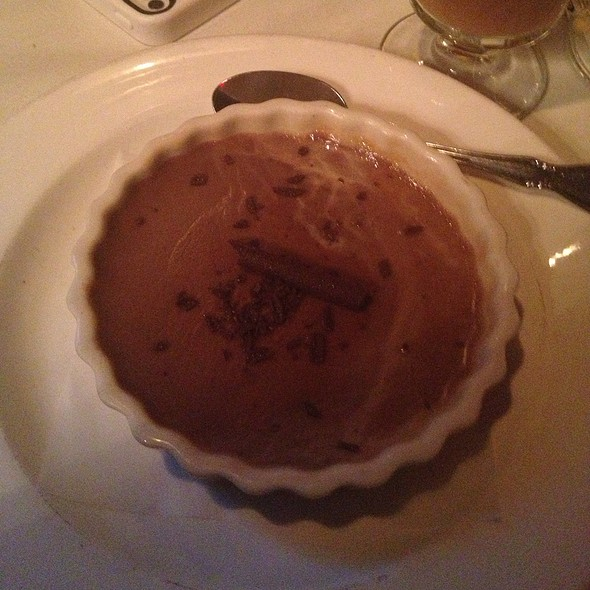 Chocolate Pot de Creme - Belvedere Inn Restaurant and Bar, Lancaster, PA