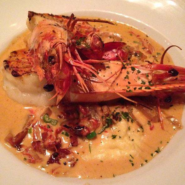 Prawns And Grits - Atlantic Seafood Company, Alpharetta, GA