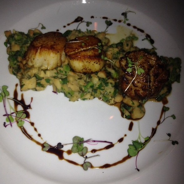 Scallops With Fava Bean Salad - Davio's - Philadelphia, Philadelphia, PA