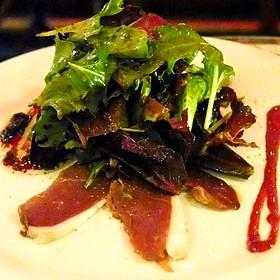 Duck Prosciutto Salad - Le Fou Frog, Kansas City, MO